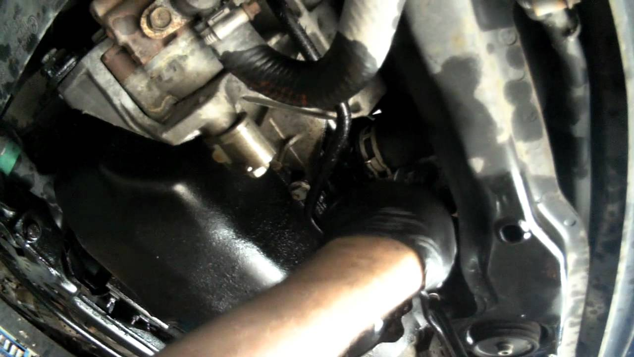 Vw A3 2 0l Oil Cooler Seal Replacing Youtube