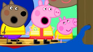 Peppa Pig Official Channel   Peppa Pig's Trip on a Canal Boat