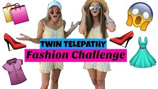 TWIN TELEPATHY Fashion Challenge! | The Rybka Twins