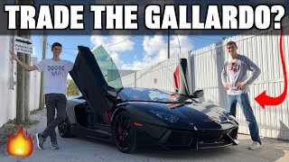 Replacing My Lamborghini Gallardo With This Aventador...