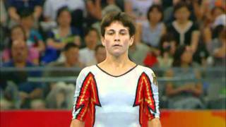 Oksana Chusovitina (GER) - 2008 Olympic Games - Balance Beam Qualification