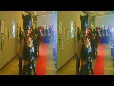 Catwoman Fashion Show @ Cartoon Museum during Art Rockx Super Hero Event (YT3D:Enable=True)