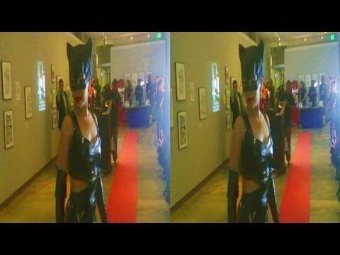 Catwoman Fashion Show @ Cartoon Museum during Art Rockx Super Hero Event (YT3D:Enable=True)