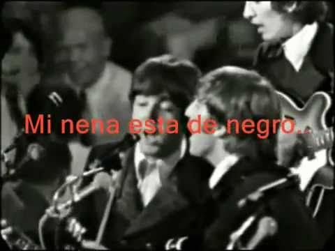 the beatles baby's in black subtitulado español