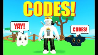 codes for pet ranch simulator