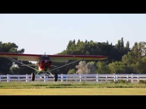 Carbon Cub Basics: Landing