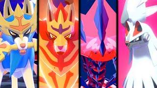 Pokemon Sword & Shield - All Legendary Pokemon Catches!