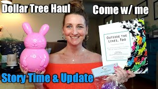 Dollar Tree Haul* NEW ITEMS* Come w/me* Story Time* A lot has happened 😯