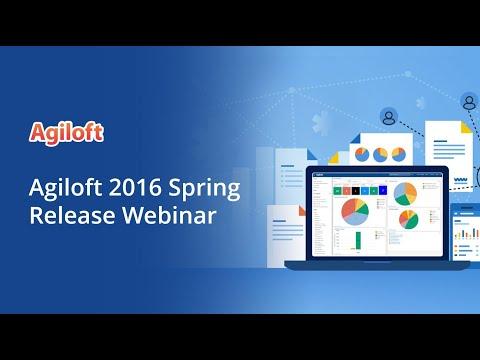Agiloft 2016 Spring Release Webinar