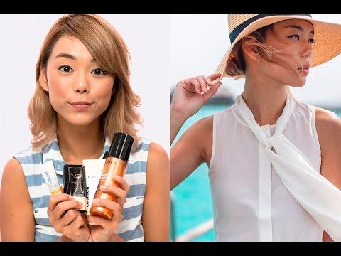 Andrea Chong: Top Beach Beauty Essentials