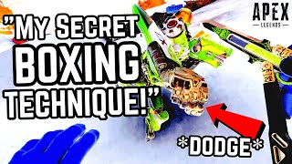 SHOP KEEPER BECOMES BOXING CHAMPION IN APEX LEGENDS WITH SECRET KO MOVE!! #15 Spinks Gaming Moments