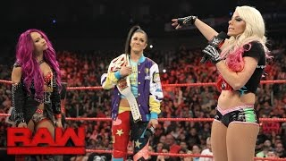 Alexa Bliss tries to get inside Bayley's head: Raw, April 24, 2017