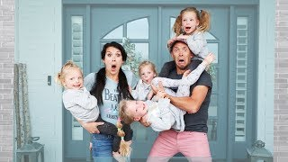 We adopted QUADRUPLETS! Parenting Swap