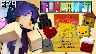 Lizzie's Welcome Gift & Inventory Pets | FunCraft Minecraft Ep. 4