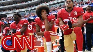 Trump: NFL players who kneel 'shouldn't be in the country'