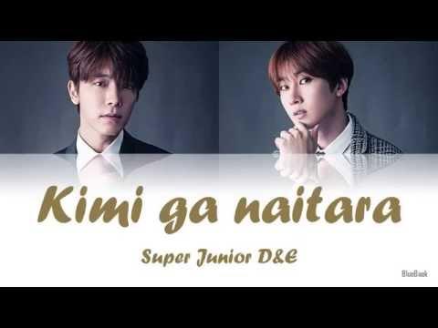 Super Junior D&E - Kimi ga naitara (キミが泣いたら) | Kan-Rom-Eng | Color Coded Lyrics