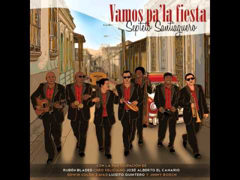 SEPTETO SANTIAGUERO  - Lagrimas Negras (feat. Ruben Blades)