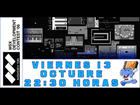 Los videojuegos de MSXdev'06 - MSX homebrew (II)