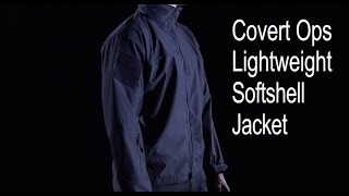 video - Covert Ops Lightweight Soft Shell Jacket Rothco Product Breakdown