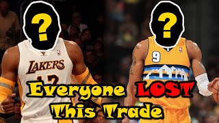 The INFAMOUS NBA Blockbuster Trade That NOBODY Won