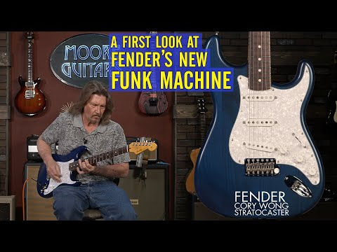 Fender Cory Wong Signature Stratocaster [The Best clean Strat sound?]
