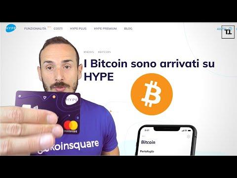 La Banca che ti fa Comprare Bitcoin! - HYPE