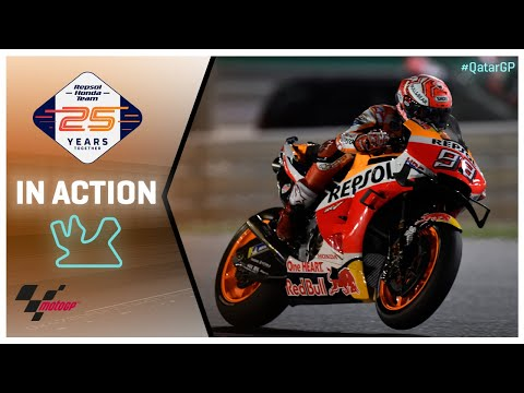 Honda in action: VisitQatar Grand Prix