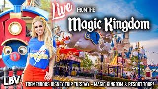 🔴LIVE! Walt Disney World Tuesday! Magic Kingdom & Resort Live Stream!