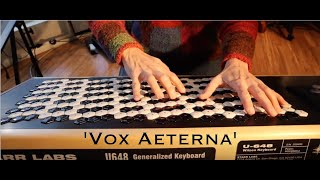 'Vox Aeterna' - polychromatic composition by Dolores Catherino