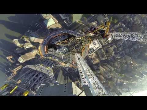 Widok ze szczytu nowego World Trade Center