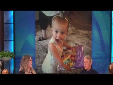 Kelly Clarkson On Ellen 10-4-16