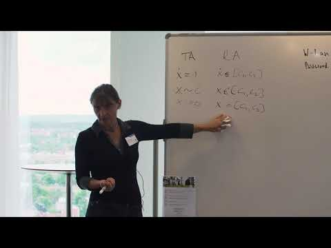 Erika Abraham, RWTH Aachen University - part 2 of 3 - HSSCPS 2018