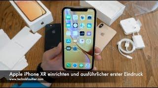 Apple iPhone XR einrichten und ausführlicher erster Eindruck