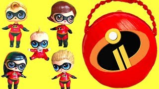 LOL Surprise The Incredibles 2 Help Rescue Punk Boi and Lil' Brother