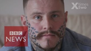 My Life With A Face Tattoo - BBC News