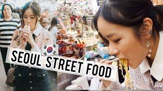 TRADITIONAL KOREAN STREET FOOD at Gwangjang Market!
