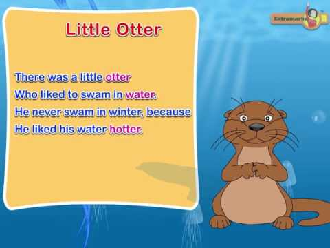 Rhyming Words Animated Videos - Class 1st