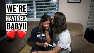 We are FINALLY having a BABY! Pregnancy Test Results
