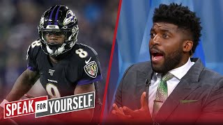 It makes no sense NFL players voted Lamar Jackson over Mahomes — Acho | NFL | SPEAK FOR YOURSELF