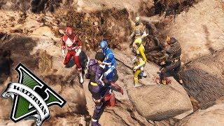 5 Anh Em Siêu Nhân | Kamen Rider Đấu Với Anh Em Siêu Nhân#18