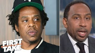 Jay-Z needs to be more transparent about the Roc Nation-NFL deal - Stephen A. | First Take