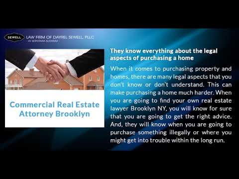 Commercial Real Estate Lawyer Brooklyn