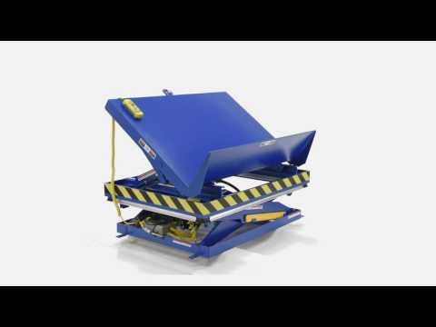 Lift & Tilt Scissor Tables EHLTTS-3654-2-48