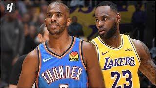 Oklahoma City Thunder vs Los Angeles Lakers - Full Game Highlights | November 19, 2019-20 NBA Season