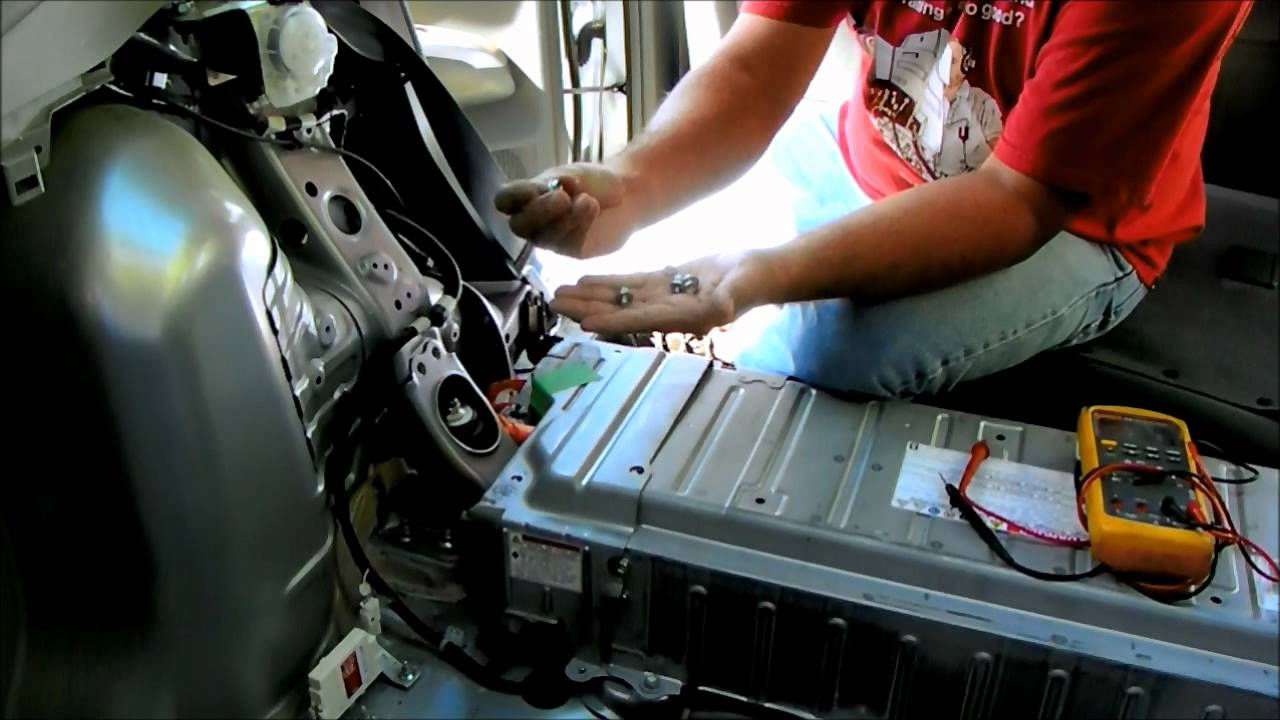 Toyota Prius Battery Removal And Repair Replace Hybrid