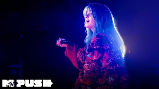 Billie Eilish Performs 'when the party's over' (Live Performance) | MTV Push
