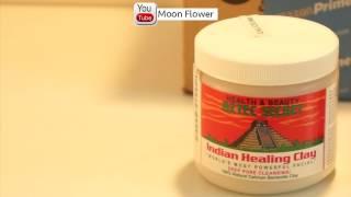 ماسك الطين الهندي لتنظيف البشرة والرؤوس السوداء والحبوب