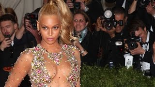 Beyonce's Met Gala dress causes stir on red carpet