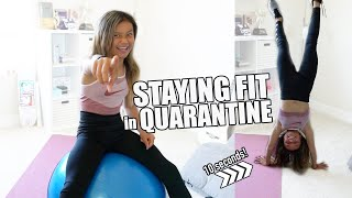 Workout Inside! Stay Fit during Quarantine! | Sky Brown