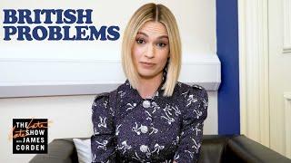 Lily James Solves r/BritishProblems